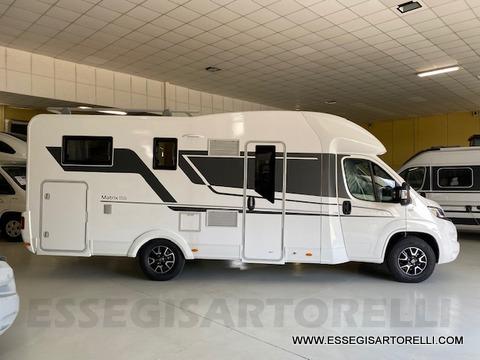 Adria New Matrix Axess M 670 SL 160 cv POWER garage gemelli basculante ultimo nuovo  in vendita a Brescia - Immagine 2