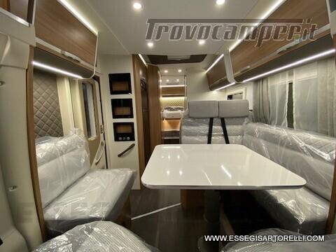 Adria New Matrix Axess M 670 SL 160 cv POWER garage gemelli basculante ultimo nuovo  in vendita a Brescia - Immagine 9