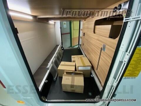 Adria New Matrix Axess M 670 SL 160 cv POWER garage gemelli basculante ultimo nuovo  in vendita a Brescia - Immagine 12