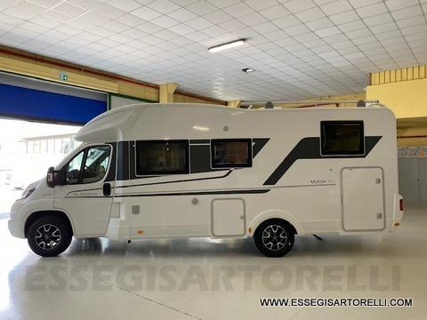 Adria New Matrix Axess M 670 SL 160 cv POWER garage gemelli basculante ultimo nuovo  in vendita a Brescia - Immagine 26