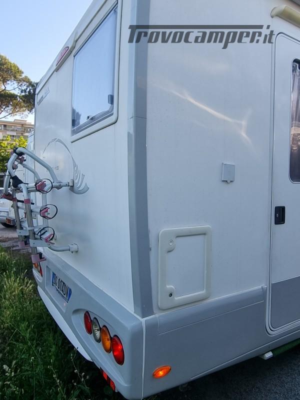 Camper mobilvetta huari 1102 -ivevo 3.0 180 cv Anno 2006  50000 km - pronto a pa nuovo  in vendita a Napoli - Immagine 3