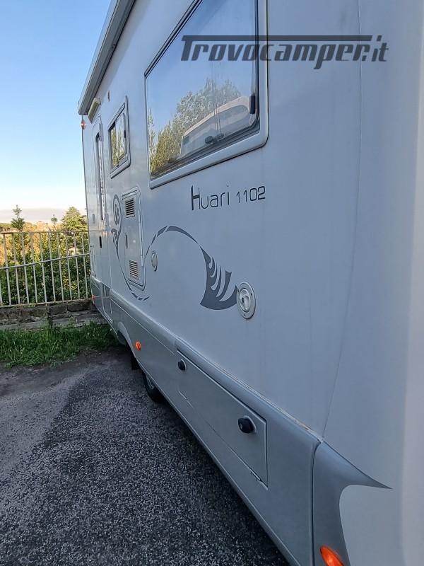 Camper mobilvetta huari 1102 -ivevo 3.0 180 cv Anno 2006  50000 km - pronto a pa nuovo  in vendita a Napoli - Immagine 4