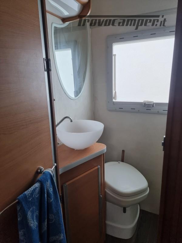 Camper mobilvetta huari 1102 -ivevo 3.0 180 cv Anno 2006  50000 km - pronto a pa nuovo  in vendita a Napoli - Immagine 14