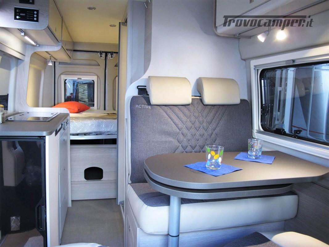 Burstner Campeo C 600 - Furgonato Bianco con tetto sollevabile nuovo  in vendita a Torino - Immagine 2