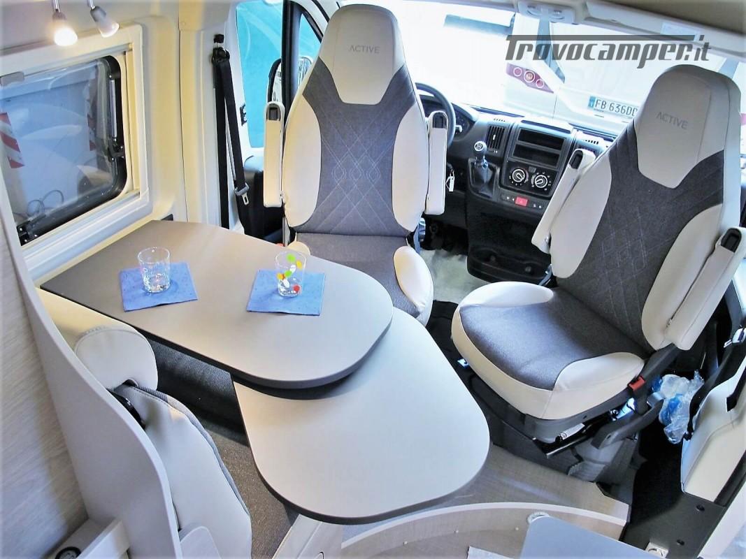 Burstner Campeo C 600 - Furgonato Bianco con tetto sollevabile nuovo  in vendita a Torino - Immagine 4