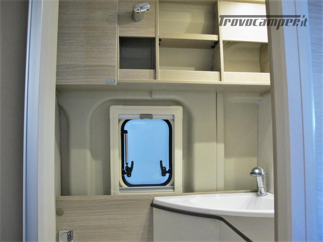 Burstner Campeo C 600 - Furgonato Bianco con tetto sollevabile nuovo  in vendita a Torino - Immagine 7