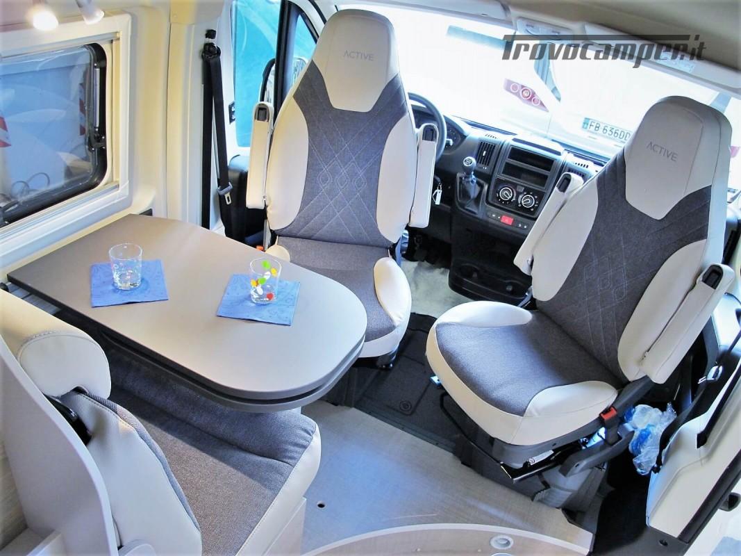 Burstner Campeo C 600 - Furgonato Bianco con tetto sollevabile nuovo  in vendita a Torino - Immagine 3