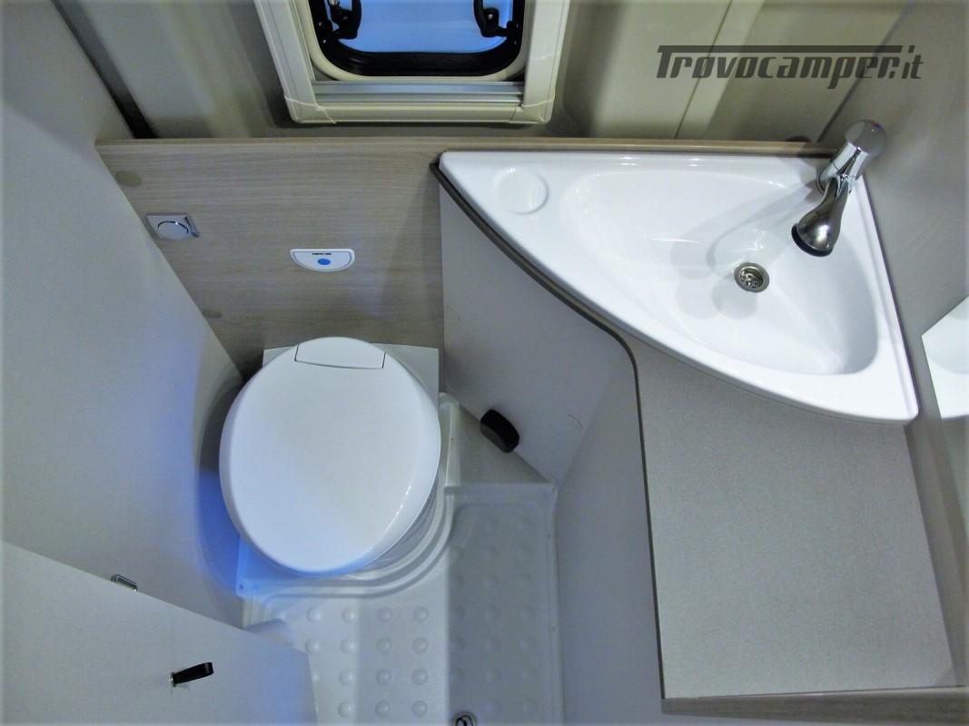 Burstner Campeo C 600 - Furgonato Bianco con tetto sollevabile nuovo  in vendita a Torino - Immagine 6