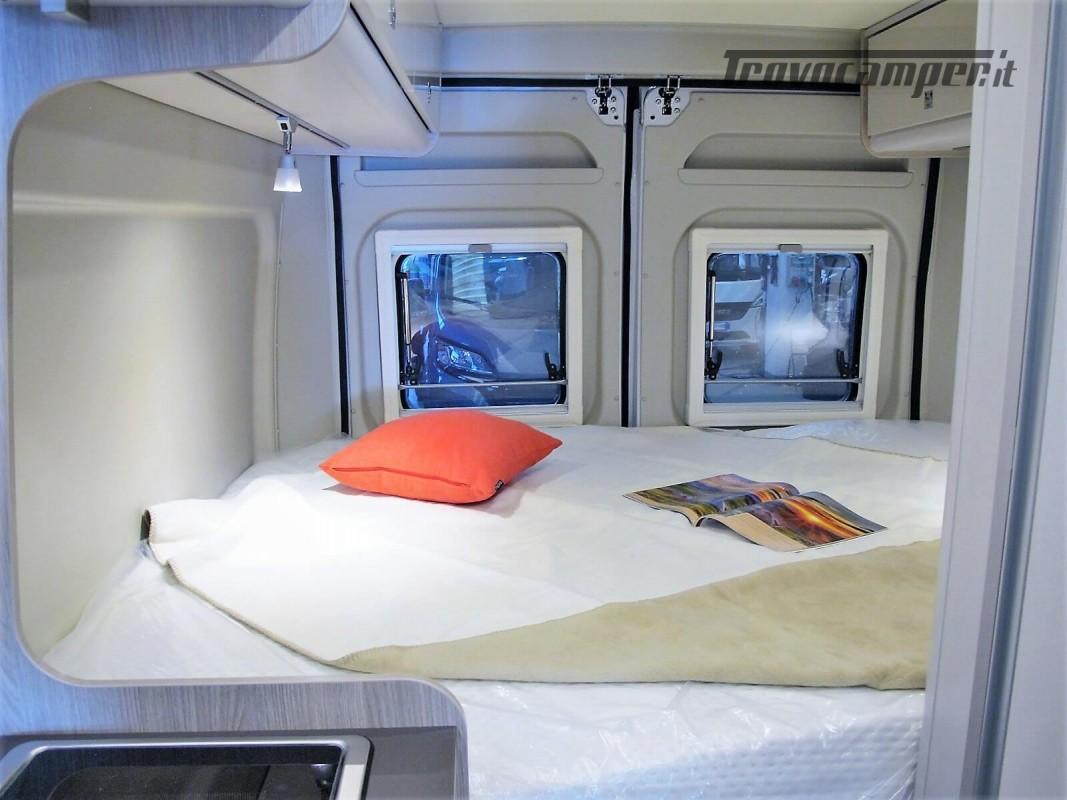 Burstner Campeo C 600 - Furgonato Bianco con tetto sollevabile nuovo  in vendita a Torino - Immagine 9