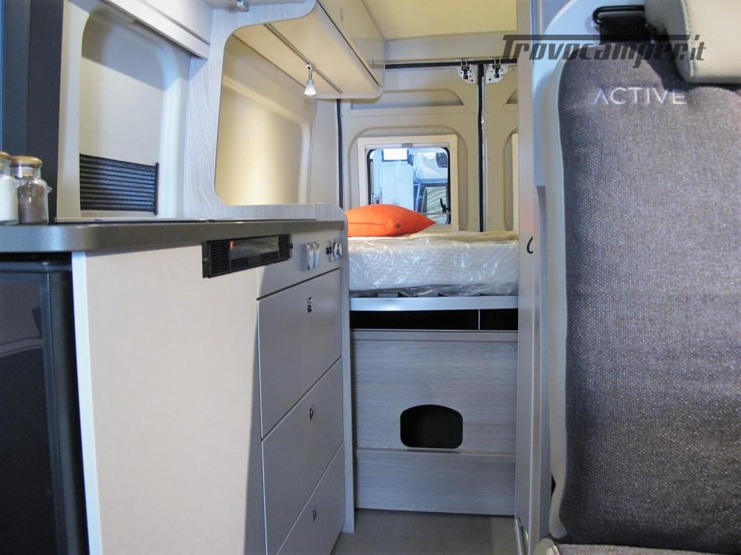 Burstner Campeo C 600 - Furgonato Bianco con tetto sollevabile nuovo  in vendita a Torino - Immagine 8