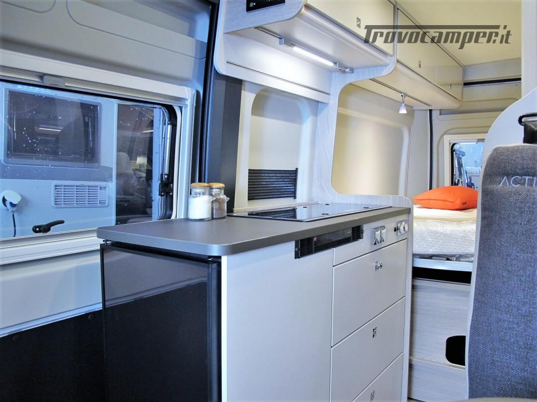 Burstner Campeo C 600 - Furgonato Bianco con tetto sollevabile nuovo  in vendita a Torino - Immagine 11
