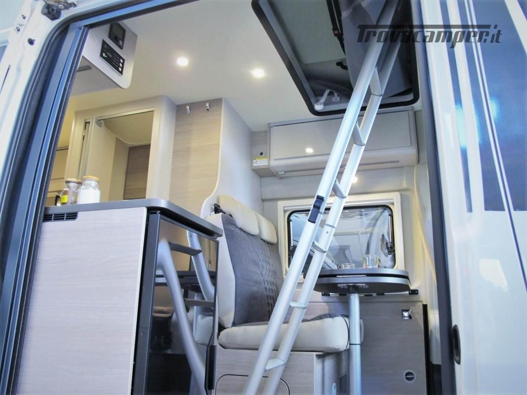 Burstner Campeo C 600 - Furgonato Bianco con tetto sollevabile nuovo  in vendita a Torino - Immagine 17