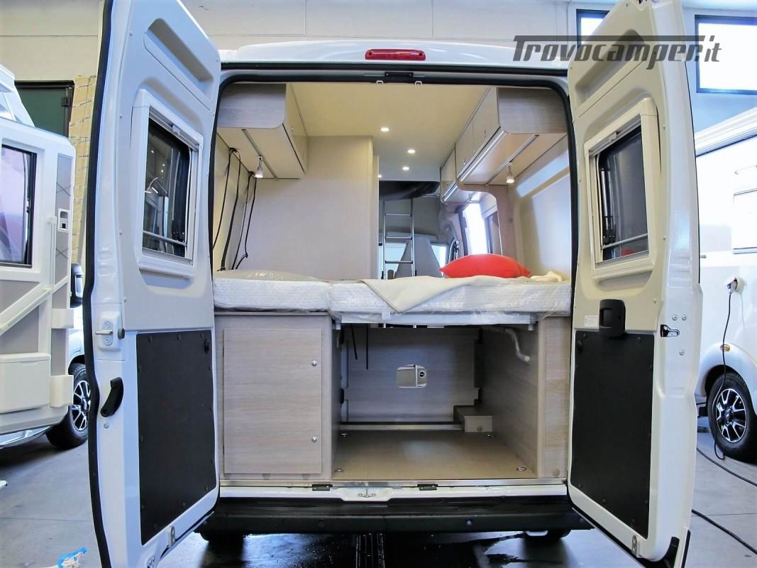 Burstner Campeo C 600 - Furgonato Bianco con tetto sollevabile nuovo  in vendita a Torino - Immagine 20