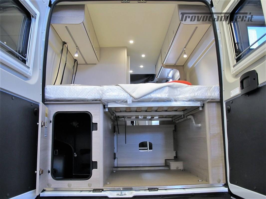 Burstner Campeo C 600 - Furgonato Bianco con tetto sollevabile nuovo  in vendita a Torino - Immagine 21