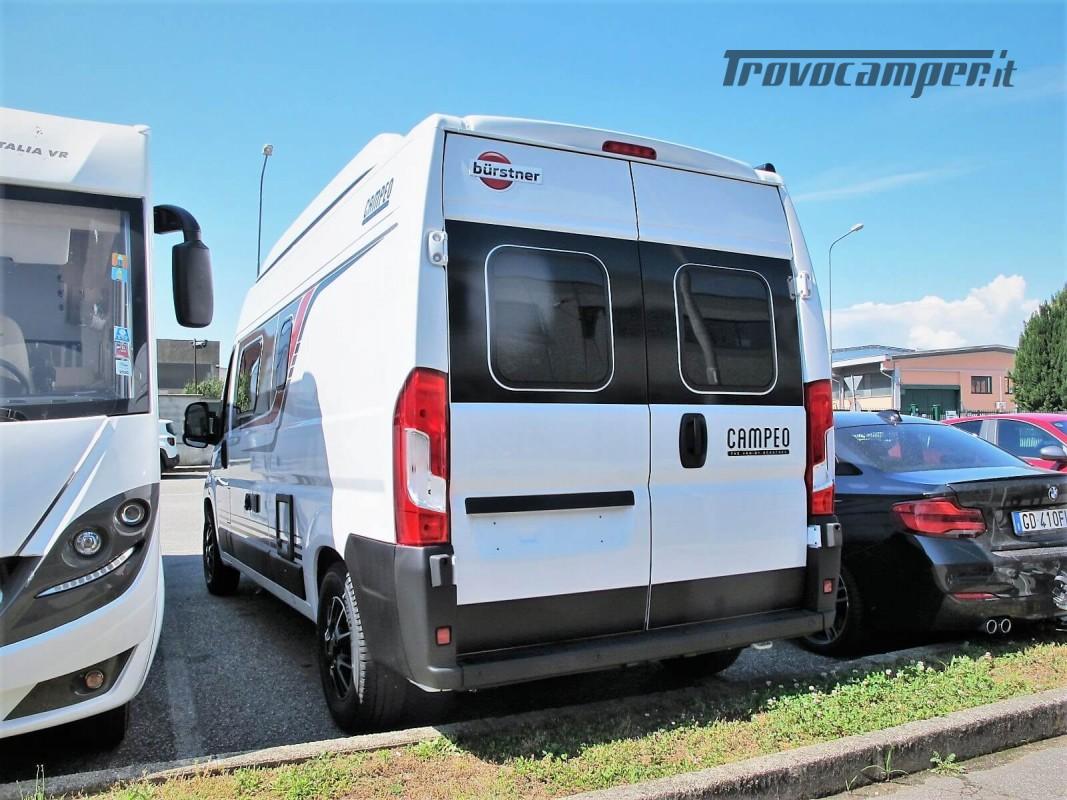 Burstner Campeo C 600 - Furgonato Bianco con tetto sollevabile nuovo  in vendita a Torino - Immagine 22