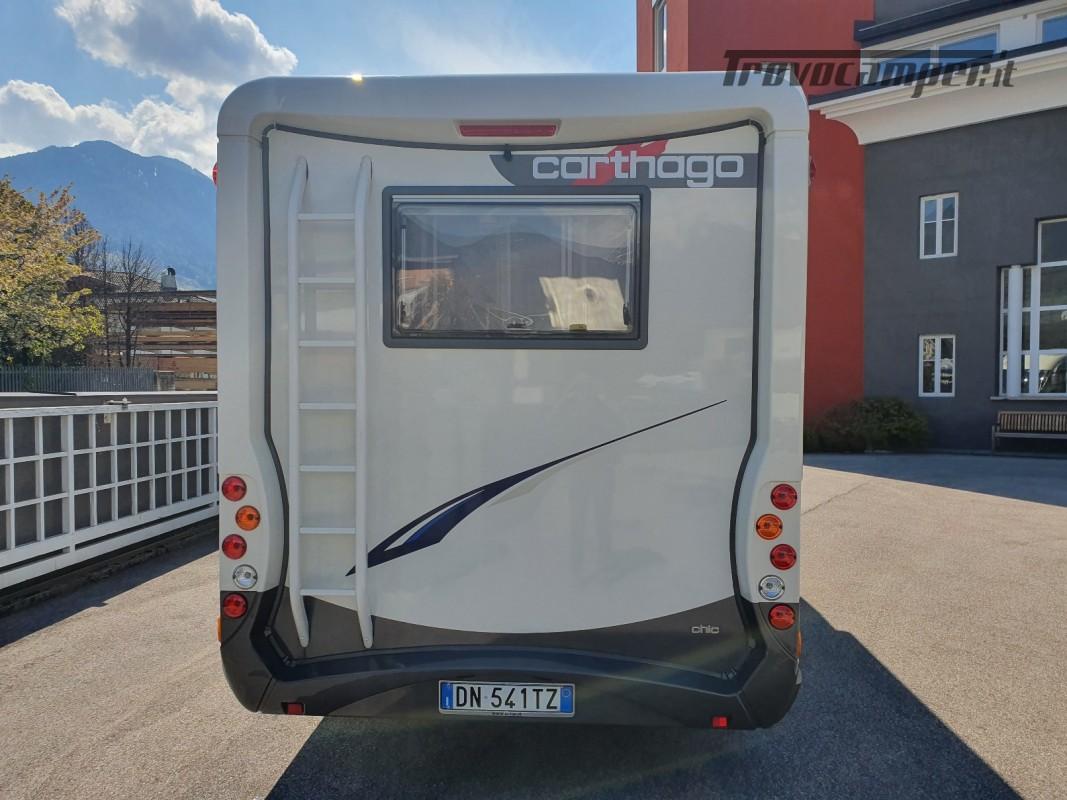 Motorhome Carthago chic e-line I 47 usato  in vendita a Bolzano - Immagine 5