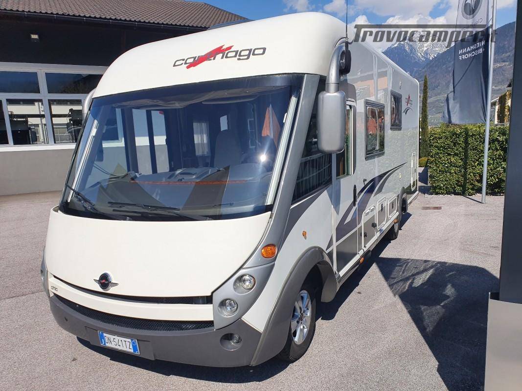 Motorhome Carthago chic e-line I 47 usato  in vendita a Bolzano - Immagine 2