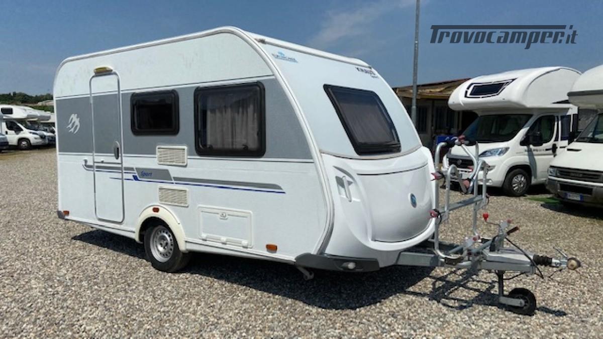 Knaus 400 Sport Del 2012 Veranda Completa 4 posti usato  in vendita a Milano - Immagine 1