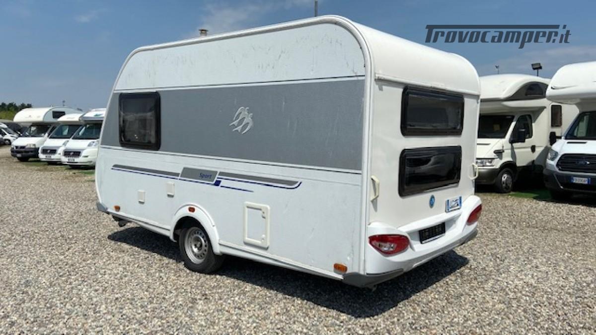 Knaus 400 Sport Del 2012 Veranda Completa 4 posti usato  in vendita a Milano - Immagine 2