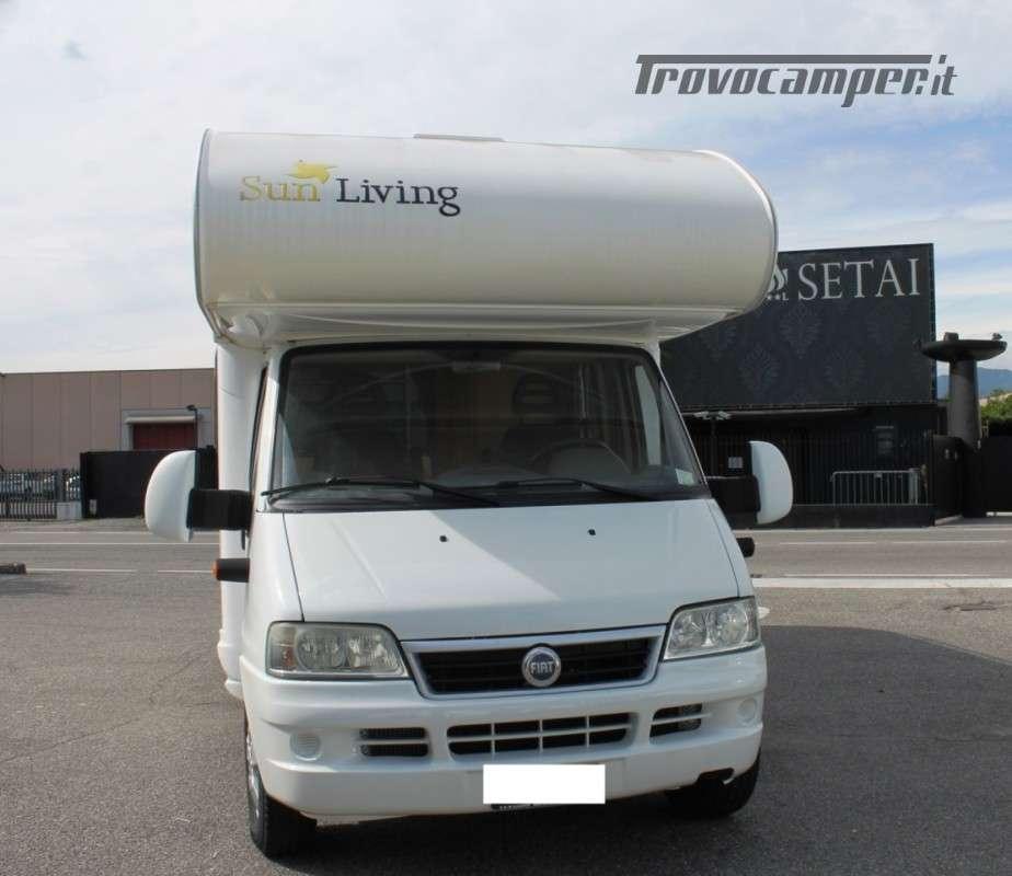 SUN LIVING MODELLO CONDOR - 7 POSTI LETTO usato  in vendita a Bergamo - Immagine 1