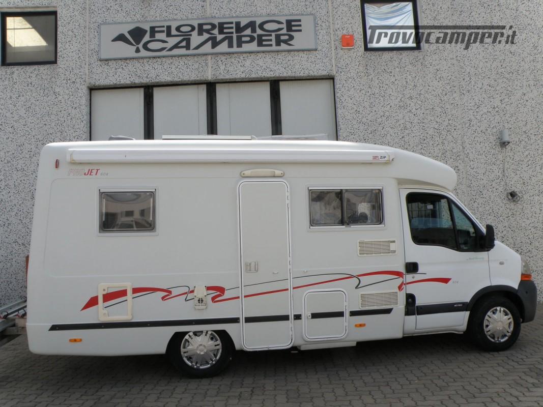 CAMPER SEMINTEGRALE LETTO ALAL FRANCESE CAMBIO AUTOMATICO ANNO 2007 usato  in vendita a Prato - Immagine 1