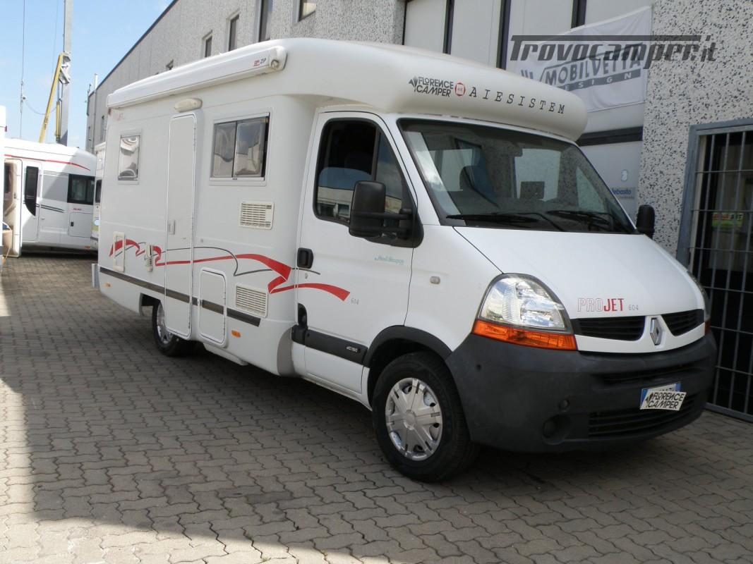 CAMPER SEMINTEGRALE LETTO ALAL FRANCESE CAMBIO AUTOMATICO ANNO 2007 usato  in vendita a Prato - Immagine 10