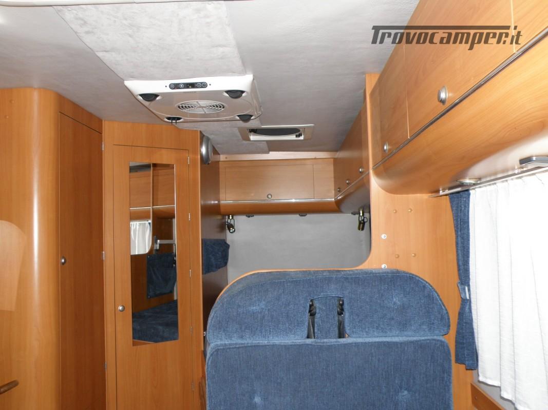 CAMPER SEMINTEGRALE LETTO ALAL FRANCESE CAMBIO AUTOMATICO ANNO 2007 usato  in vendita a Prato - Immagine 11