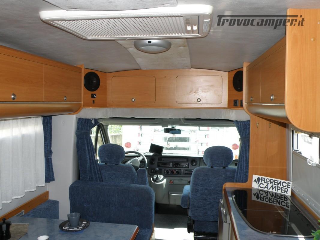 CAMPER SEMINTEGRALE LETTO ALAL FRANCESE CAMBIO AUTOMATICO ANNO 2007 usato  in vendita a Prato - Immagine 26