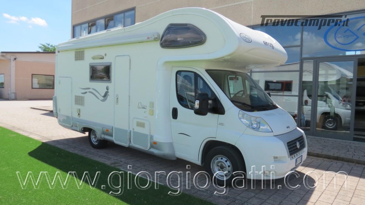 Camper Elnagh Prince 47 mansardato con garage usato  in vendita a Alessandria - Immagine 1