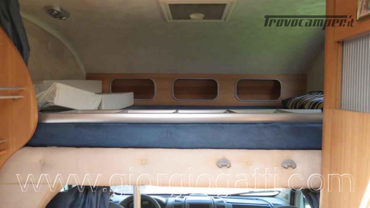 Camper Elnagh Prince 47 mansardato con garage usato  in vendita a Alessandria - Immagine 17