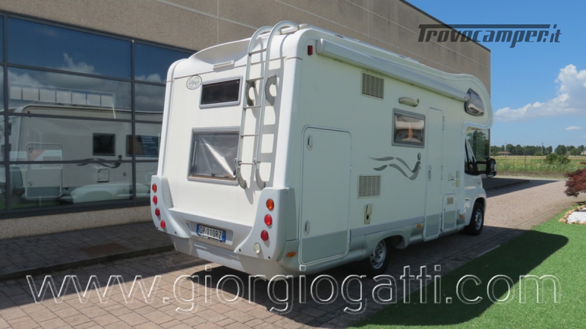 Camper Elnagh Prince 47 mansardato con garage usato  in vendita a Alessandria - Immagine 22