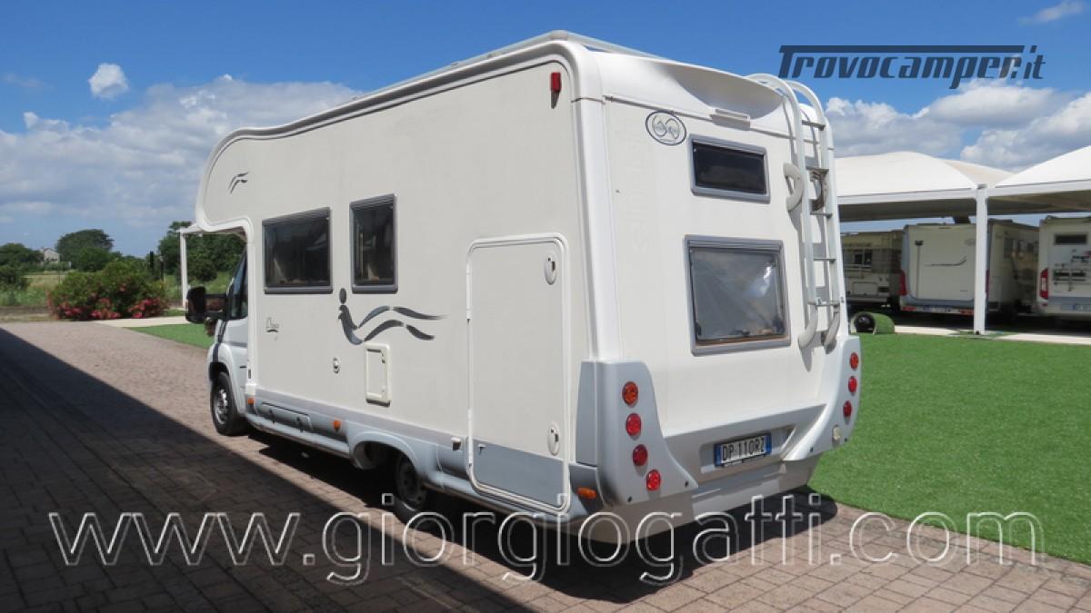 Camper Elnagh Prince 47 mansardato con garage usato  in vendita a Alessandria - Immagine 25