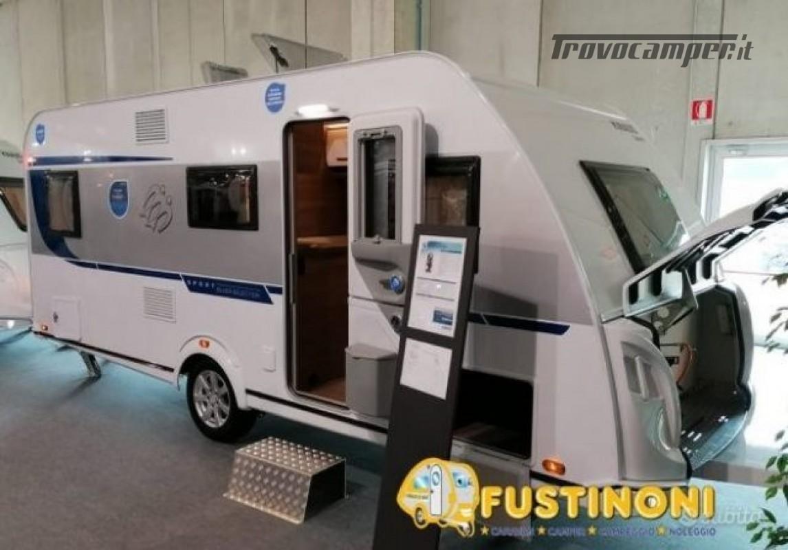 Roulotte KNAUS CARAVAN  SPORT 500 KD  3 LETTI CAS nuovo  in vendita a Bergamo - Immagine 1