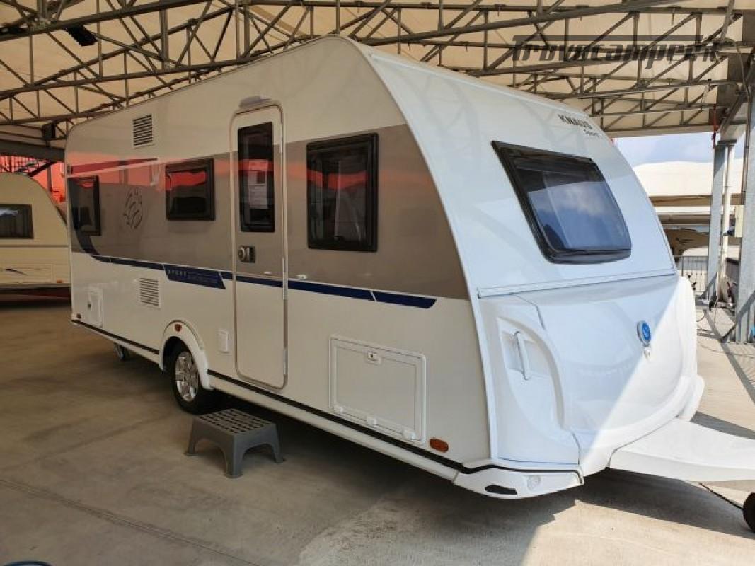 Roulotte KNAUS CARAVAN  SPORT 500 KD  3 LETTI CAS nuovo  in vendita a Bergamo - Immagine 21