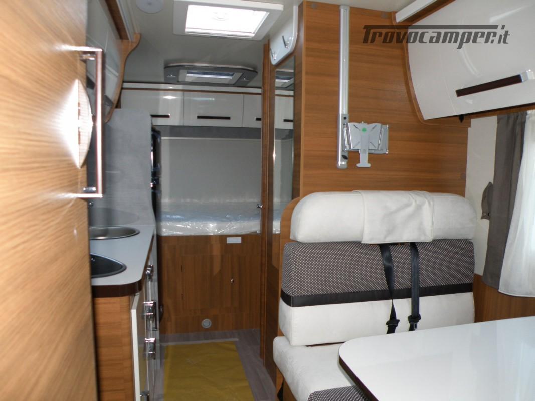 CAMPER MANSARDATO PRONTA CONSEGNA ELNAGH BARON 26 GARAGE nuovo  in vendita a Prato - Immagine 21