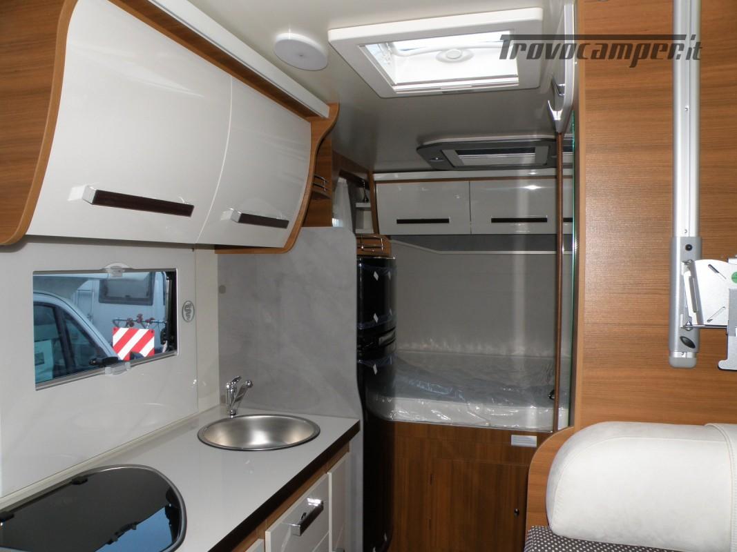 CAMPER MANSARDATO PRONTA CONSEGNA ELNAGH BARON 26 GARAGE nuovo  in vendita a Prato - Immagine 22