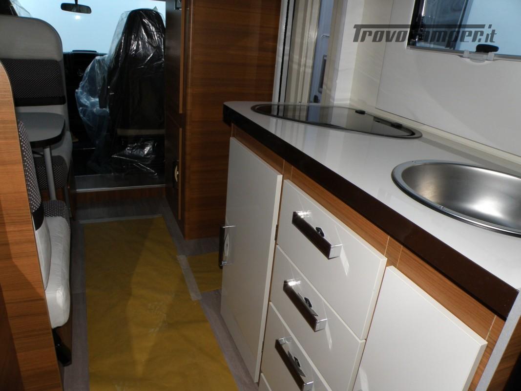 CAMPER MANSARDATO PRONTA CONSEGNA ELNAGH BARON 26 GARAGE nuovo  in vendita a Prato - Immagine 23