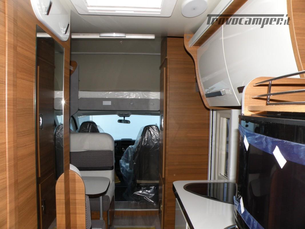 CAMPER MANSARDATO PRONTA CONSEGNA ELNAGH BARON 26 GARAGE nuovo  in vendita a Prato - Immagine 24