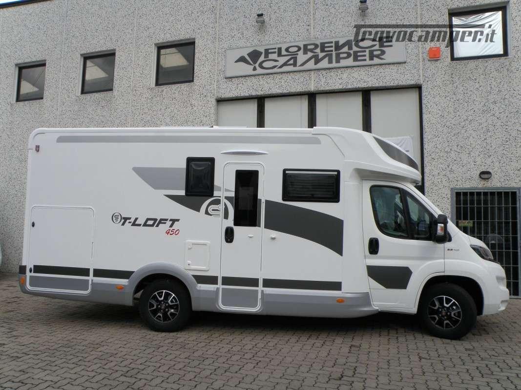 CAMPER PRONTA CONSEGNA SEMINTEGRALE ELNAGH T-LOFT 450 nuovo  in vendita a Prato - Immagine 16