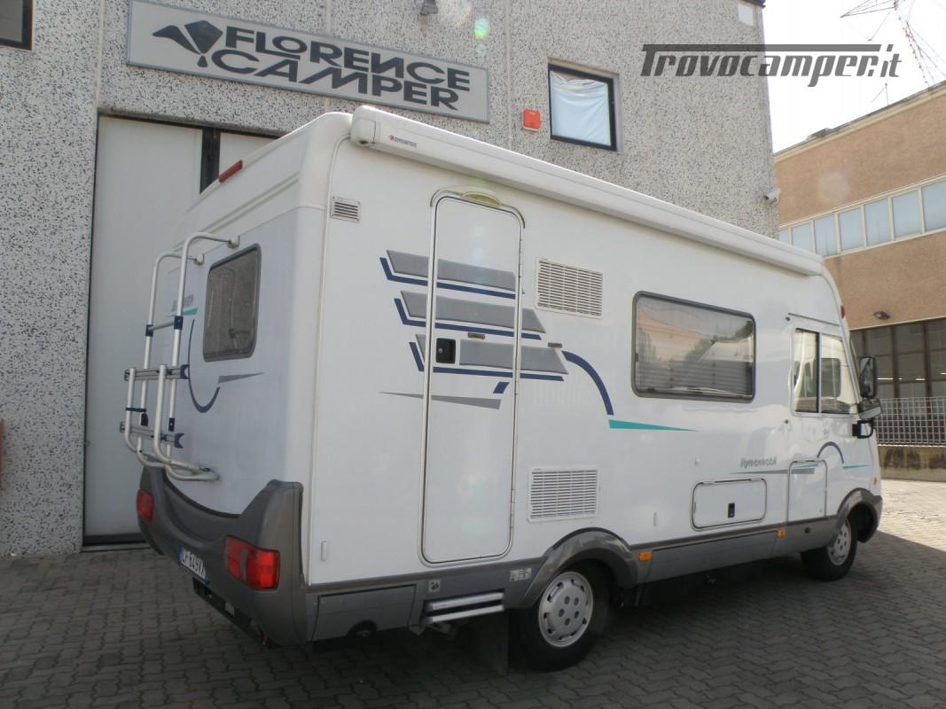 CAMPER MOTORHOME HYMER ANNO 2003 usato  in vendita a Prato - Immagine 6
