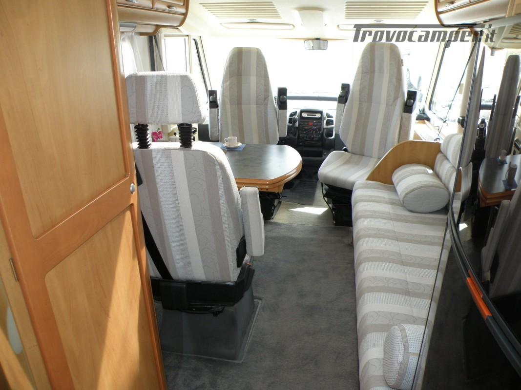 CAMPER MOTORHOME HYMER ANNO 2003 usato  in vendita a Prato - Immagine 11