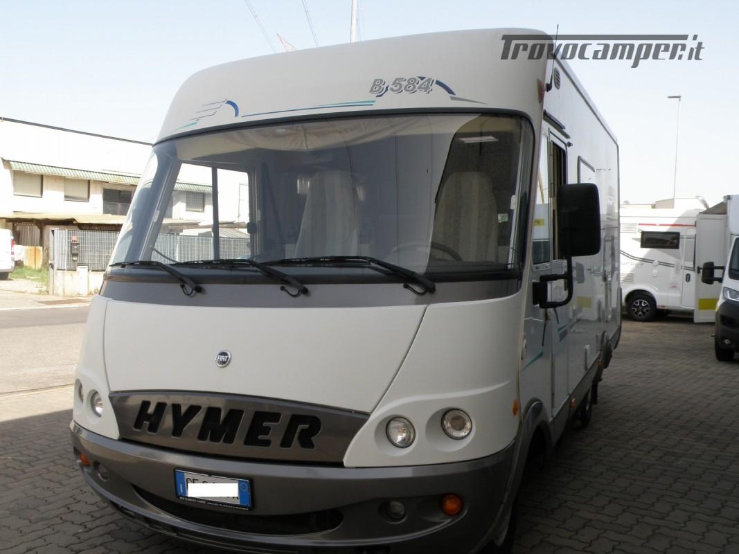 CAMPER MOTORHOME HYMER ANNO 2003 usato  in vendita a Prato - Immagine 12