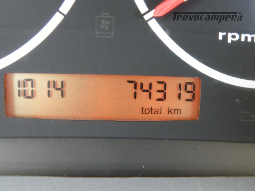 CAMPER MOTORHOME HYMER ANNO 2003 usato  in vendita a Prato - Immagine 15