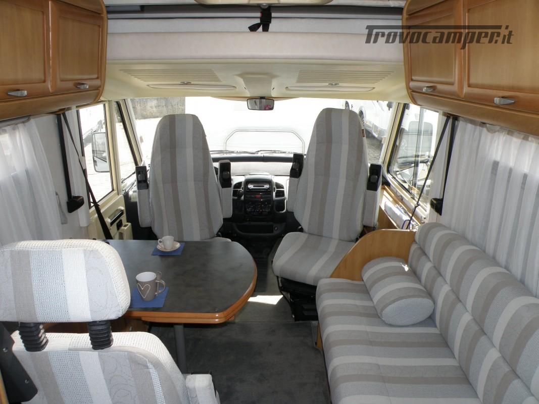 CAMPER MOTORHOME HYMER ANNO 2003 usato  in vendita a Prato - Immagine 20