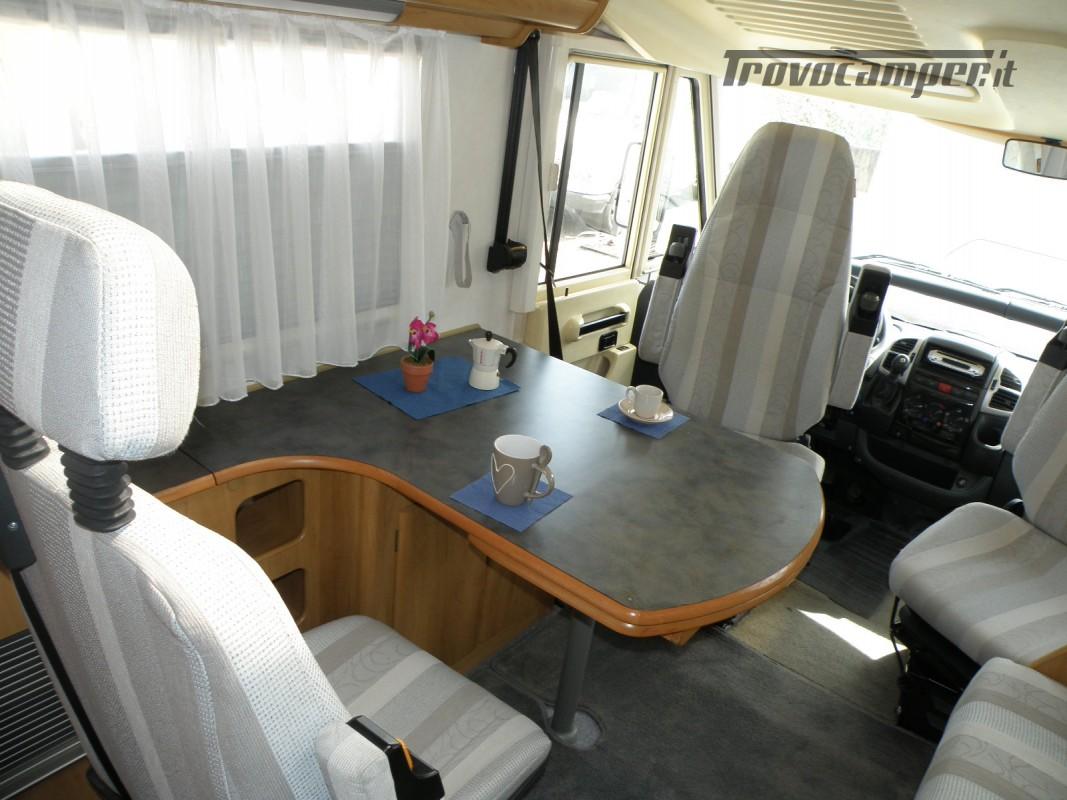 CAMPER MOTORHOME HYMER ANNO 2003 usato  in vendita a Prato - Immagine 21