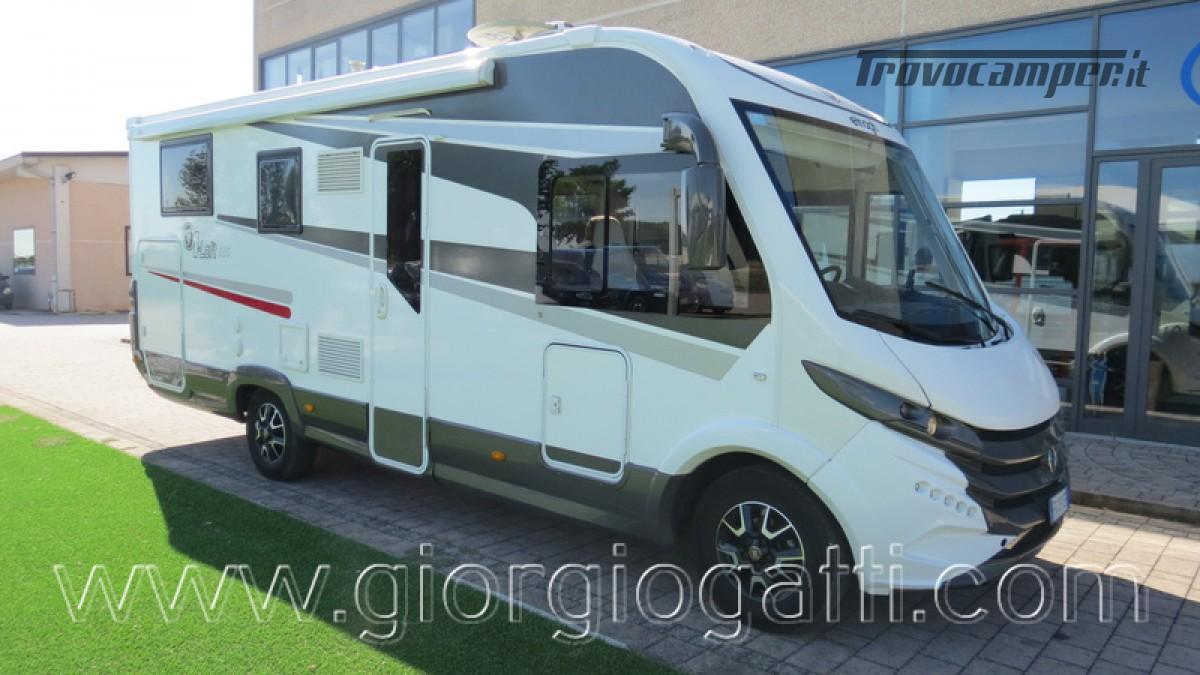 Camper Elnagh I-Loft 530 motorhome letti gemelli e garage usato  in vendita a Alessandria - Immagine 1