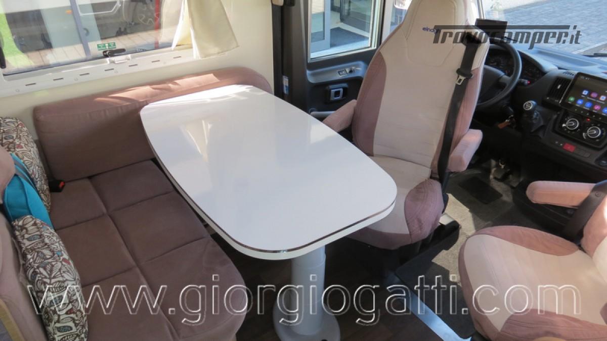 Camper Elnagh I-Loft 530 motorhome letti gemelli e garage usato  in vendita a Alessandria - Immagine 15