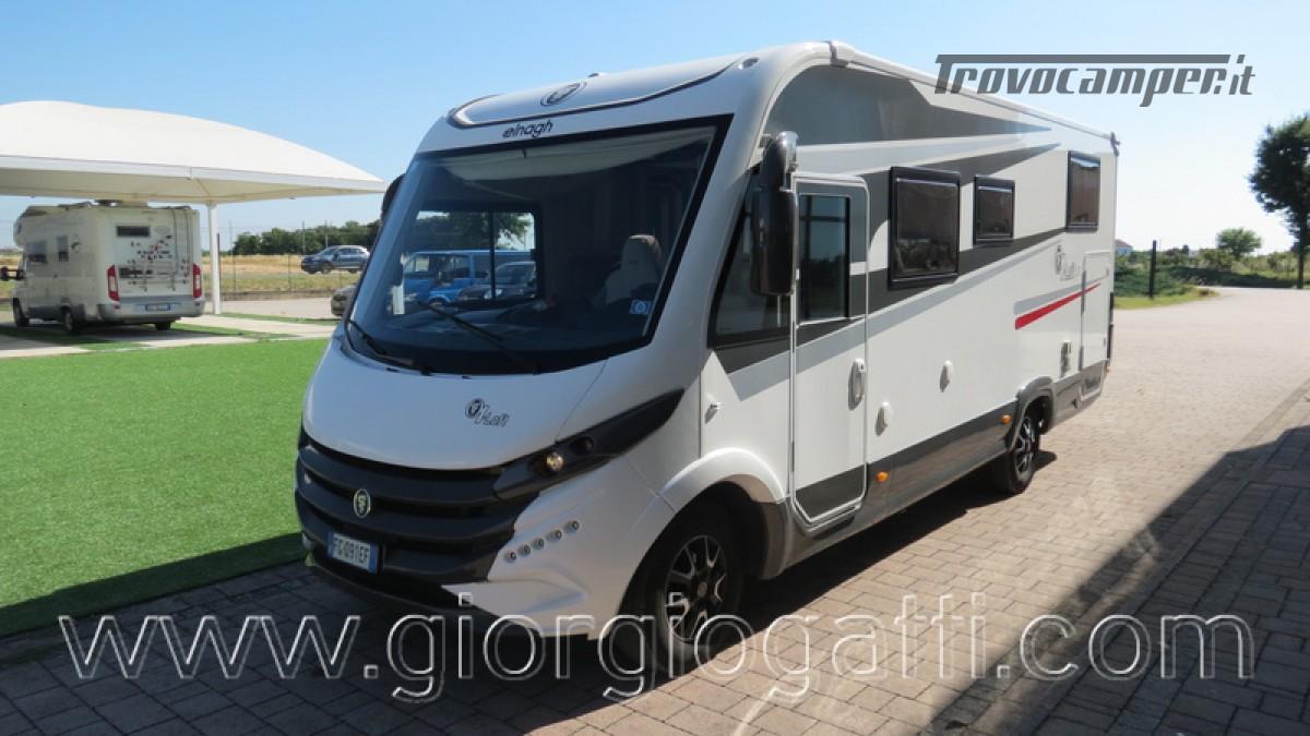 Camper Elnagh I-Loft 530 motorhome letti gemelli e garage usato  in vendita a Alessandria - Immagine 22