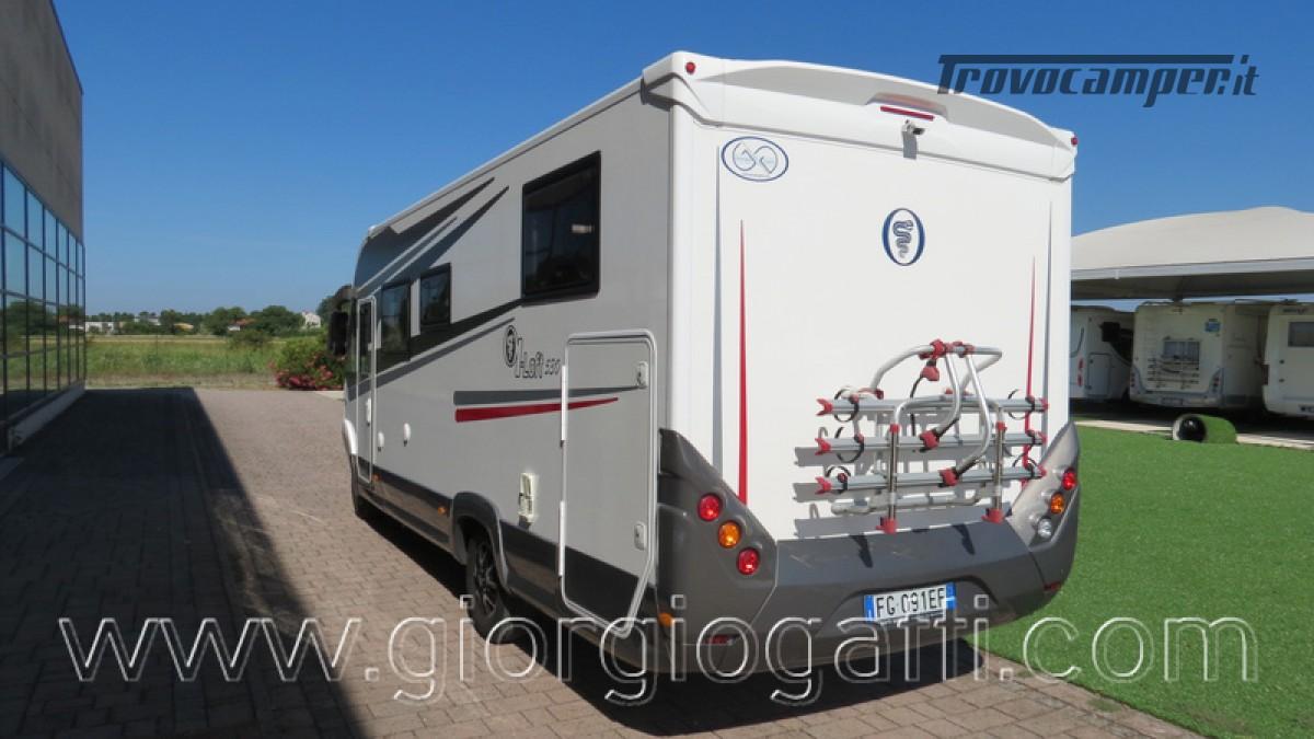 Camper Elnagh I-Loft 530 motorhome letti gemelli e garage usato  in vendita a Alessandria - Immagine 26