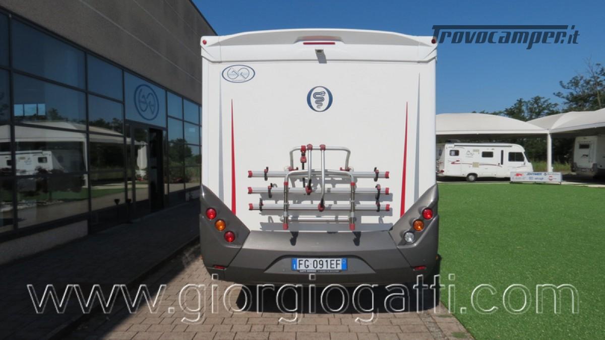 Camper Elnagh I-Loft 530 motorhome letti gemelli e garage usato  in vendita a Alessandria - Immagine 27